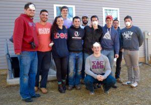 Stevens Institute volunteers join build team